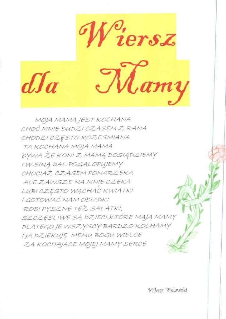 życzenia Na Dzień Matki 26 Maja 2017 Gmina Jakubów