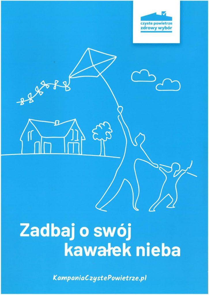 Obrazek przedstawia logo programu czyste powietrze